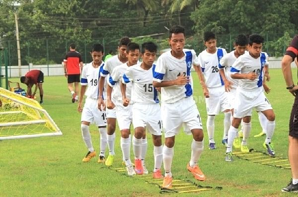 India U-16 boys score 14 goals past German club Rosenheim U-16