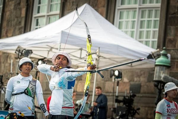 Russia beat India in the gold medal match of the World Archery Championships