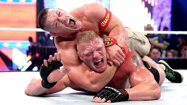 Summerslam rewind: John Cena vs. Brock Lesnar WWE World ...