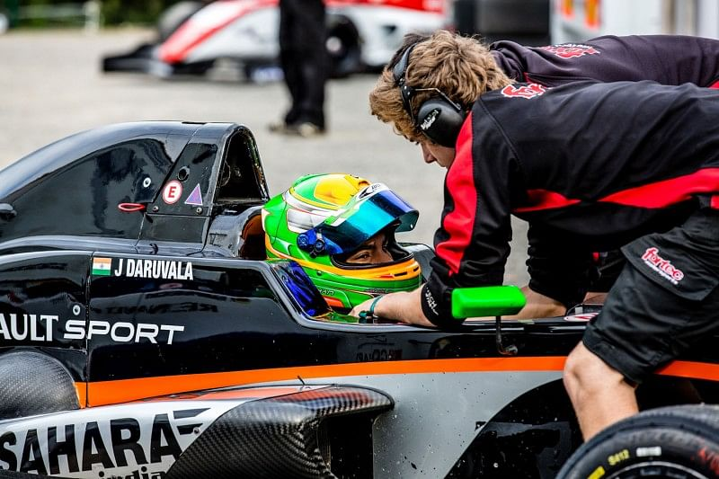 Interview with Force India's Jehan Daruvala: