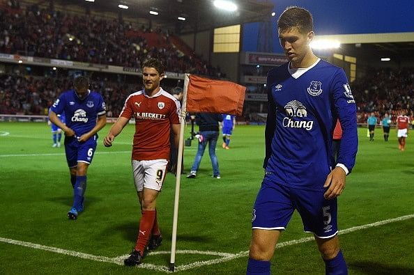 Everton fans abuse John Stones after Barnsley game; Martinez to reject transfer request