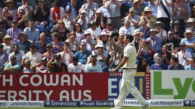 Aussie pacer Mitchell Johnson relishing jeering from English spectators