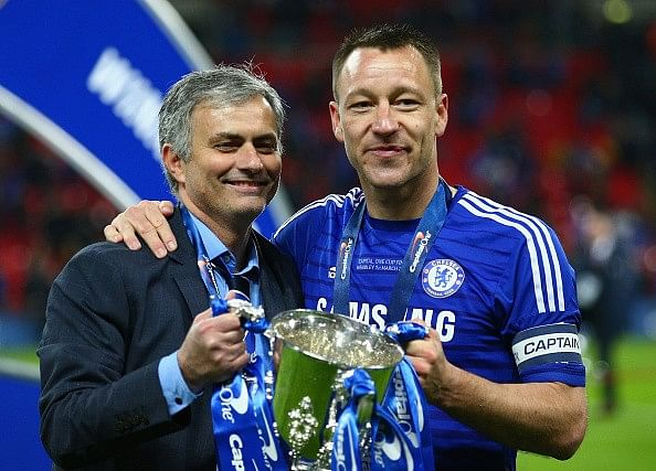 Jose Mourinho hails John Terry's form for Chelsea last season