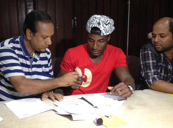 Haitian Defender Judelin Aveska signs for Mohun Bagan