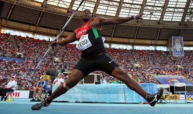 Kenyan athlete Julius Yego learns javelin throw on YouTube; wins gold at World Championships