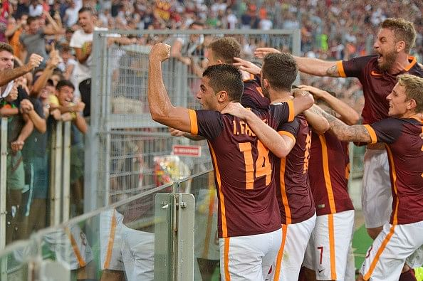 AS Roma 2-1 Juventus: Evra sent off as Old Lady suffer consecutive defeats