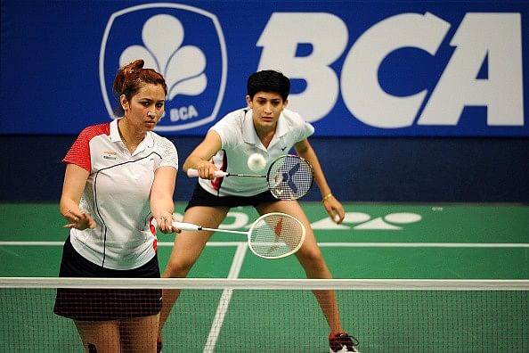 2015 World Championships - Jwala Gutta and Ashwini Ponnappa enter quarterfinals