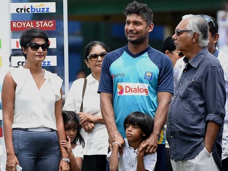Kumar Sangakkara did not achieve true potential, says father Kshema