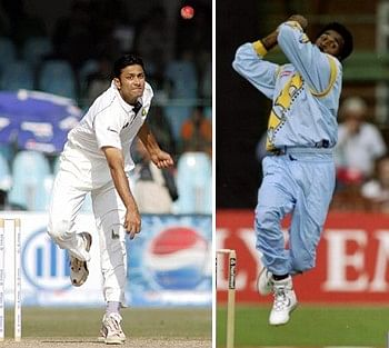 When Anil Kumble and Javagal Srinath bowled to a non-existent batsman