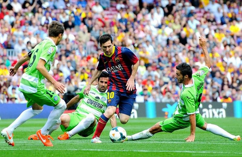 Image result for Messi dribble