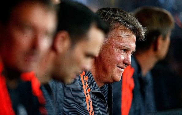 Louis van Gaal believes Barcelona, Bayern want to avoid Manchester United in the UCL group stage