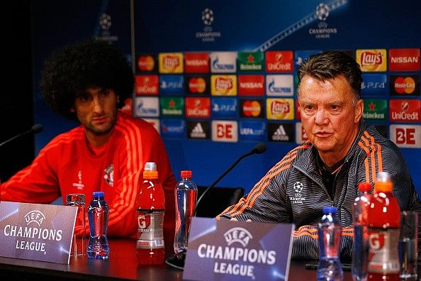 Manchester United manager Louis van Gaal to play Marouane Fellaini as a striker