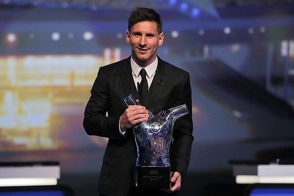 Video: Barcelona teammates help showcase his talents says Lionel Messi