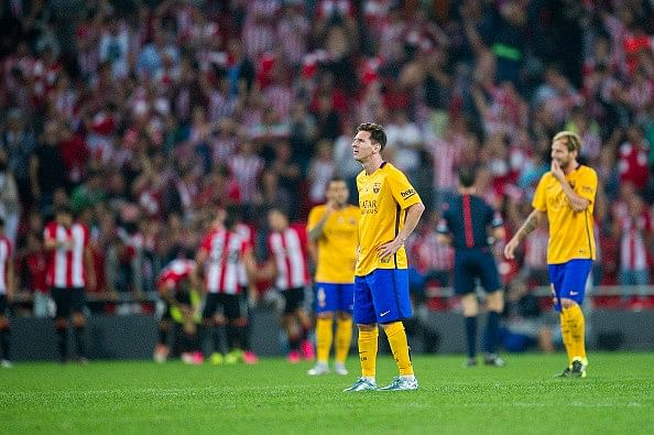 Spanish Supercopa: Athletic Bilbao 4-0 FC Barcelona - Player ratings