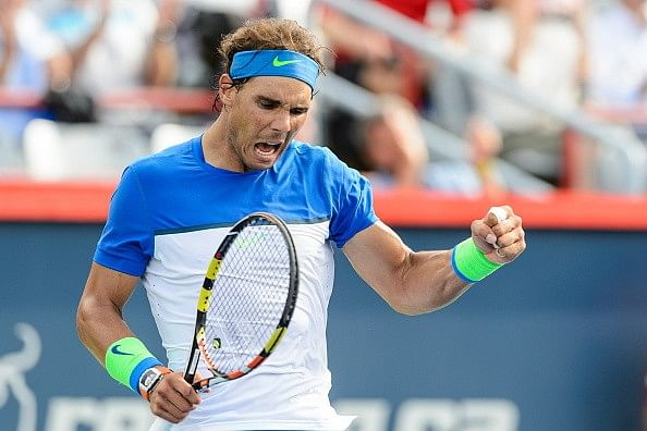 Rafael Nadal through to the third round of Montreal Masters