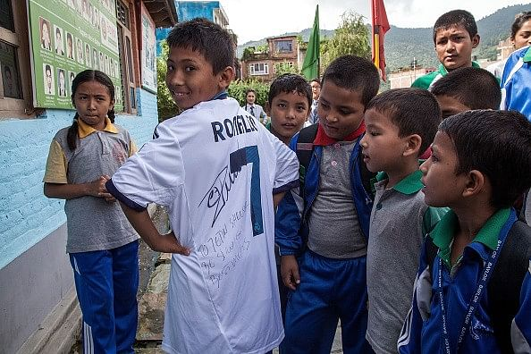 Cristiano Ronaldo and Eden Hazard donate signed memorabilia to Nepal Earthquake victims