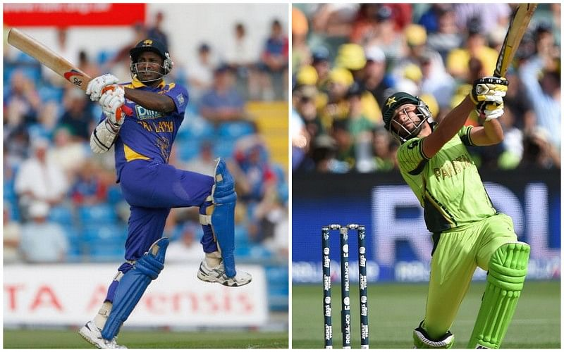 Sanath Jayasuriya vs Shahid Afridi: A statistical comparison of two destructive all-rounders