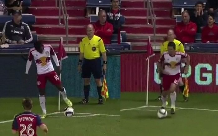 Video: New York Red Bulls use trick play to score goal from corner, but should it have counted?