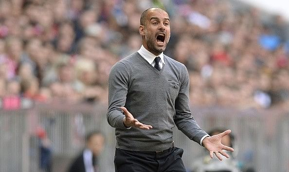Video: Pep Guardiola clashes with AC Milan's Nigel De Jong in tunnel during friendly