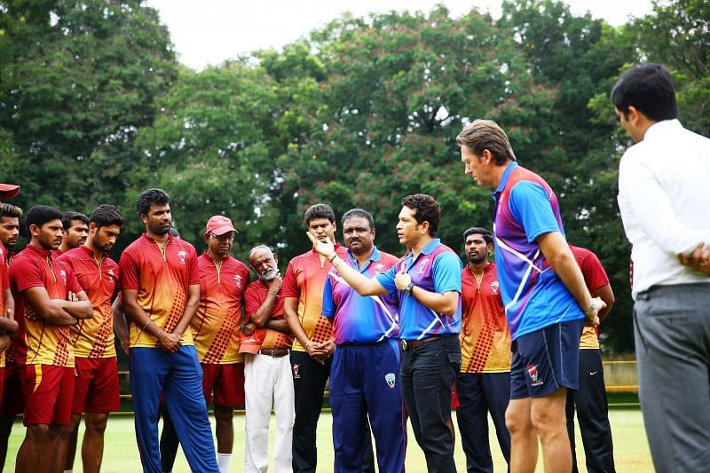 Tendulkar and McGrath join hands to mentor the new batch of upcoming pace bowlers