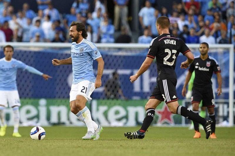 Video: Andrea Pirlo sets up David Villa to bag first MLS assist