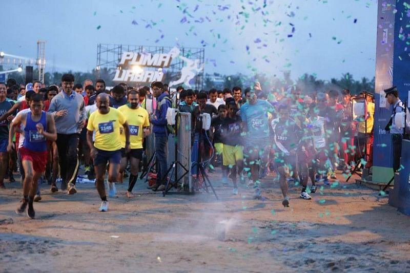 2015 Puma Urban Stampede Bengaluru: Results