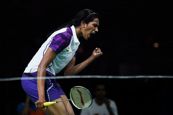 2015 World Championships - Sindhu upsets Xuerui to move into the quarterfinals