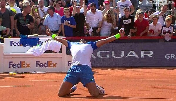 Rafael Nadal wins 2015 Hamburg Open after beating Fabio Fognini in straight sets