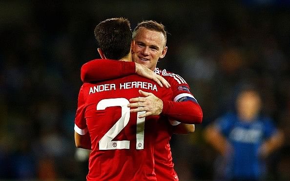 Dominant Manchester United thrash Club Brugge 4-0 to seal Champions League spot