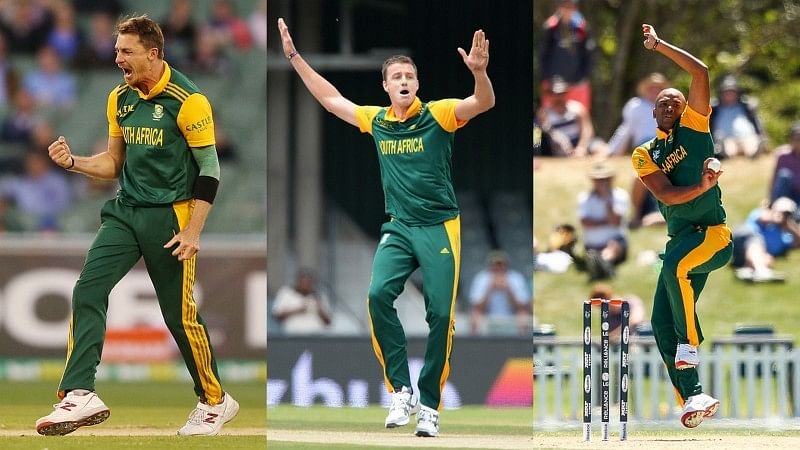 Video: South African bowling at its best