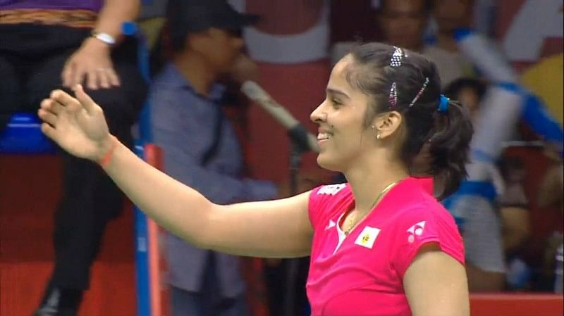 Saina Nehwal becomes first Indian to reach the final of World Championships