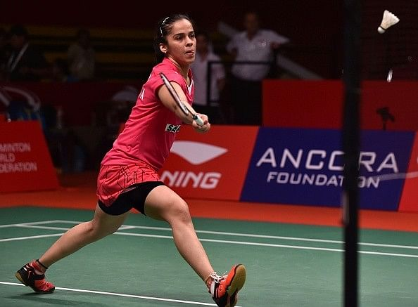 Saina Nehwal beats Wang Yihan to reach the semifinals of the BWF World Championships