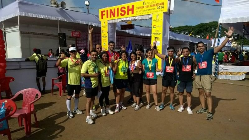 Satara Hill Half Marathoners attempt Guinness World Record