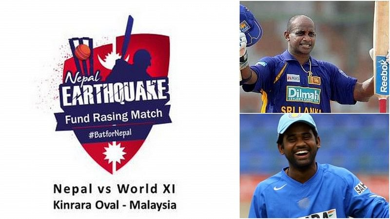 Sanath Jayasuriya to lead World XI side against Nepal in charity match for earthquake relief