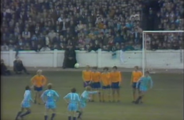 Video: Coventry City's outrageous free kick goal against Everton
