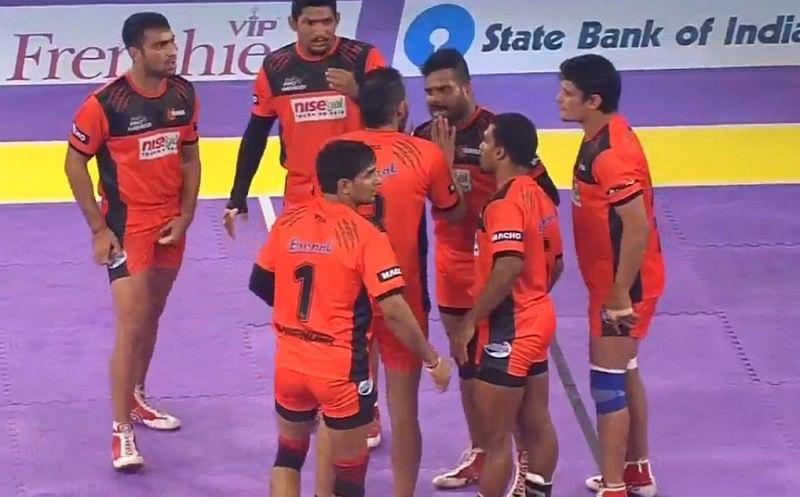 Pro Kabaddi: U Mumba make it 7 in a row with 27-22 win over Dabang Delhi