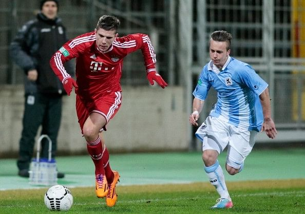 Video: Franck Ribery's brother Steeven Ribery scores an absolute stunner for Bayern Munich