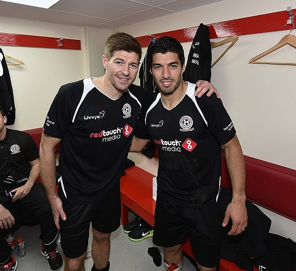 Luis Suarez believes Steven Gerrard's slip against Chelsea was destiny