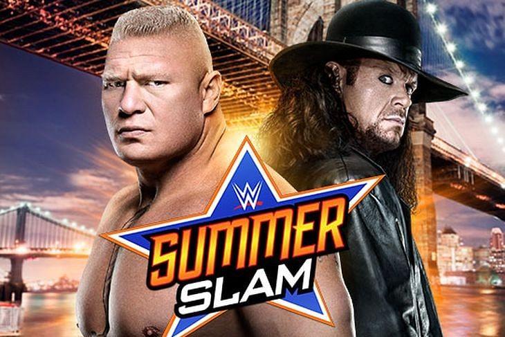 WWE SummerSlam Aug 23 2015 final match card