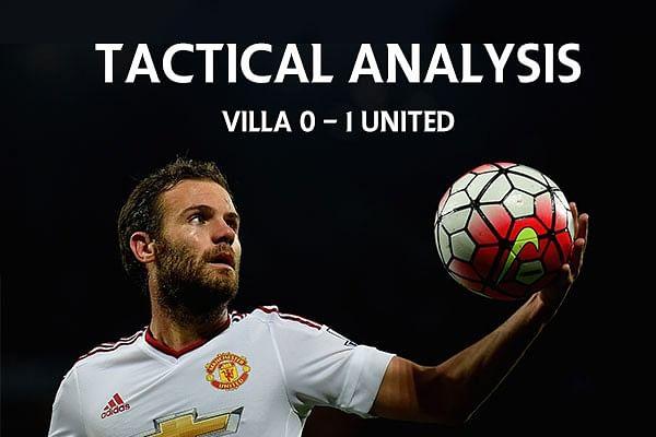 Aston Villa 0-1 Man Utd: Tactical Analysis