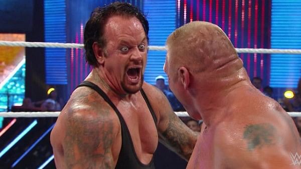 Reason for The Undertaker's 'Dusty' finish over Brock Lesnar revealed