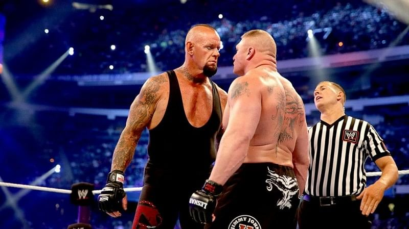 The Wait Is Almost Over Brock Lesnar Vs The Undertaker