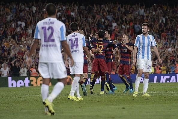 Thomas Vermaelen goal hands Barcelona 1-0 win over gritty Malaga