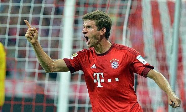 Manchester United submit £60 million bid for Bayern Munich forward Thomas Muller