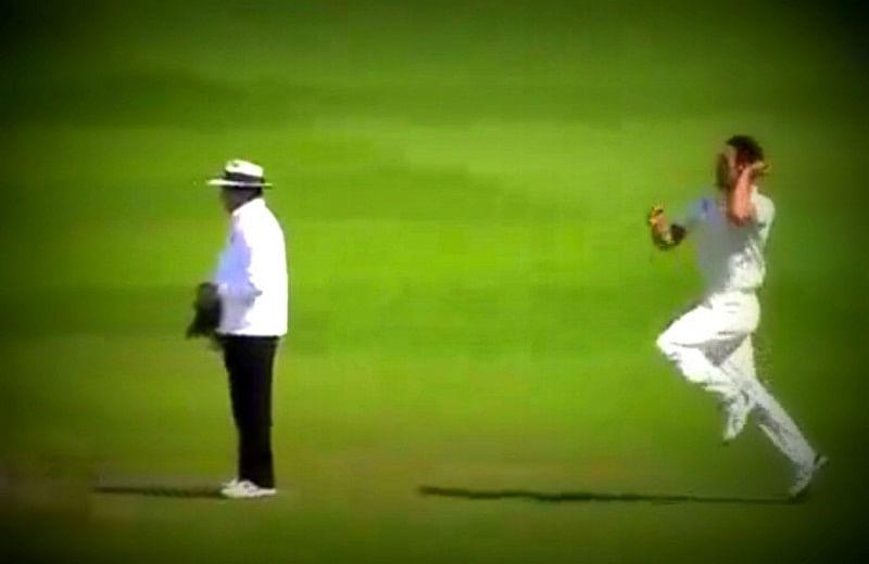 Video: Mitchell Johnson's 24-yard ball