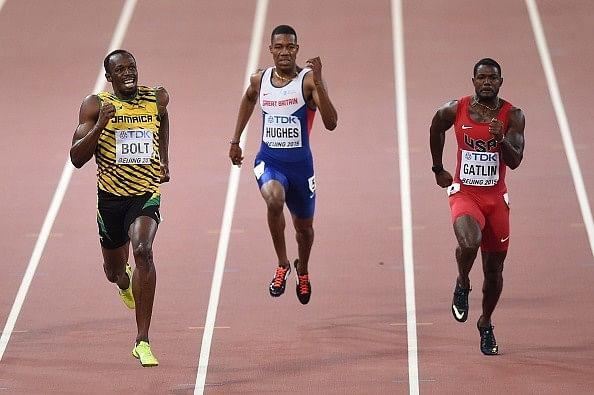 Usain Bolt wins 200m final at the 2015 IAAF World Championships