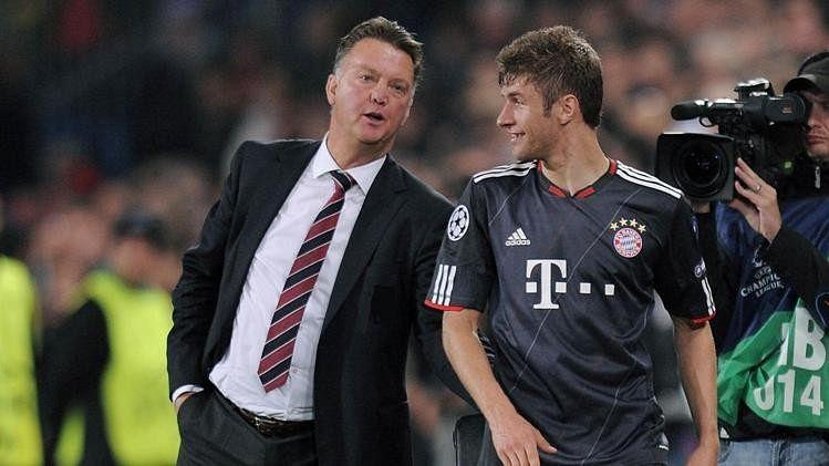 Resultado de imagen para Müller Louis Van Gaal
