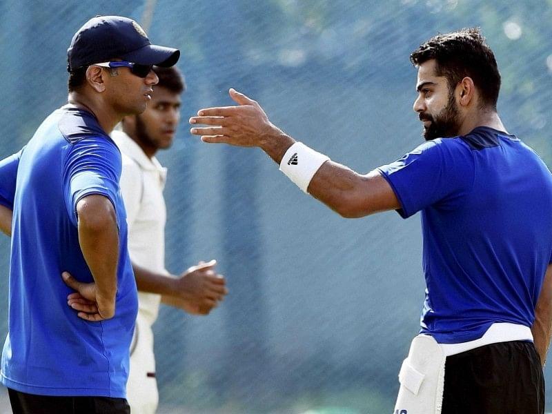 India 'A' coach Rahul Dravid defends Virat Kohli