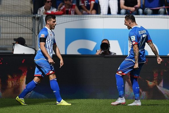 Video: Kevin Volland scores joint fastest Bundesliga goal in 9 seconds against Bayern Munich