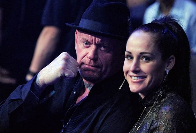 Undertaker and his wife get pranked during rare public appearance, HBK artwork
